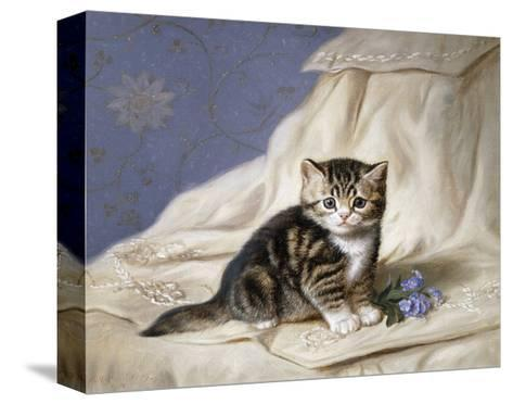Forget-Me-Not-Horatio Henri Couldery-Stretched Canvas Print