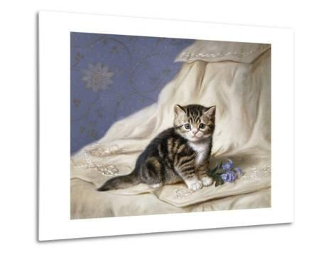 Forget-Me-Not-Horatio Henri Couldery-Metal Print