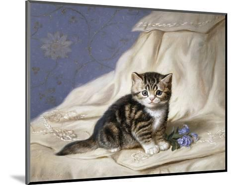 Forget-Me-Not-Horatio Henri Couldery-Mounted Giclee Print