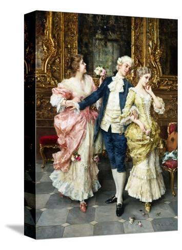 The First Tiff-Federigo Andreotti-Stretched Canvas Print