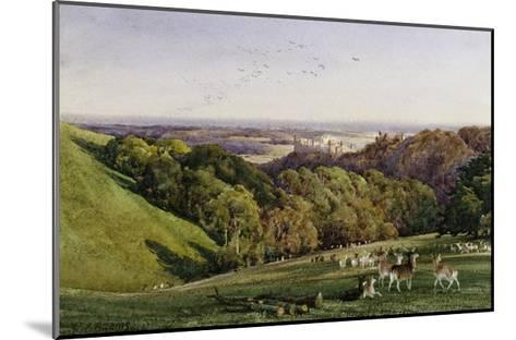 Evening in Arundel Park, Sussex, England-Charles James Adams-Mounted Giclee Print