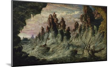 Shipwrecked Boats Battling the Storm-Gustave Dor?-Mounted Giclee Print