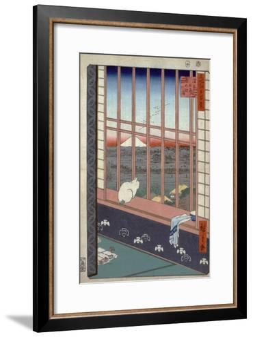 Asakusa Ricefields and Torinomachi Festival-Ando Hiroshige-Framed Art Print