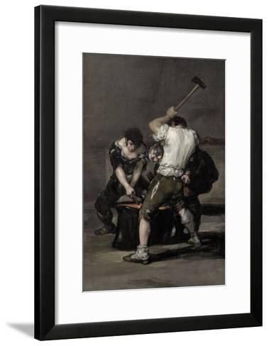 The Forge-Suzanne Valadon-Framed Art Print