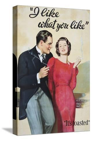I Like What You Like Advertising Poster-Hayden Hayden-Stretched Canvas Print