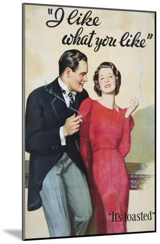 I Like What You Like Advertising Poster-Hayden Hayden-Mounted Giclee Print