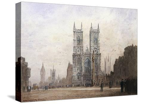 Westminster Abbey, London-Fred E^J^ Goff-Stretched Canvas Print