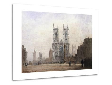 Westminster Abbey, London-Fred E^J^ Goff-Metal Print