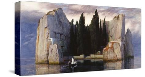 The Isle of the Dead-Arnold Bocklin-Stretched Canvas Print