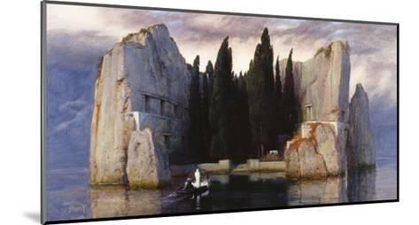 The Isle of the Dead-Arnold Bocklin-Mounted Giclee Print