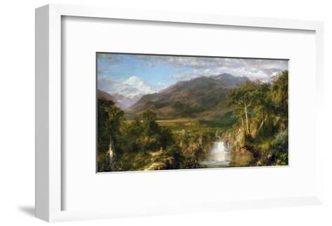 Heart of the Andes-Frederic Edwin Church-Framed Art Print