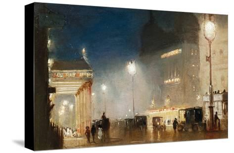 The Haymarket, London-George Hyde-Pownall-Stretched Canvas Print