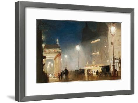 The Haymarket, London-George Hyde-Pownall-Framed Art Print