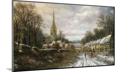 Kings Sutton, Northhamptonshire-Charles Leaver-Mounted Giclee Print