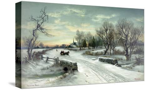 Christmas Morn--Stretched Canvas Print