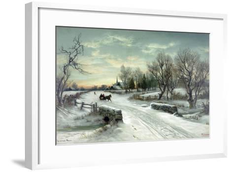 Christmas Morn--Framed Art Print