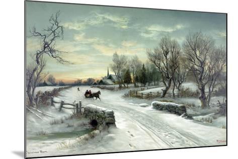 Christmas Morn--Mounted Giclee Print