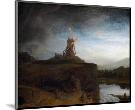 The Mill-Rembrandt van Rijn-Mounted Giclee Print