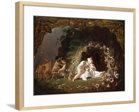 Tatiana Sleeping-Richard Dadd-Framed Art Print