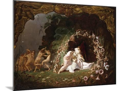 Tatiana Sleeping-Richard Dadd-Mounted Giclee Print