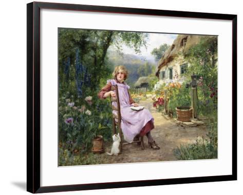 In the Garden-Yeend King-Framed Art Print