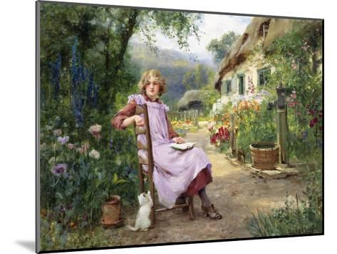In the Garden-Yeend King-Mounted Giclee Print