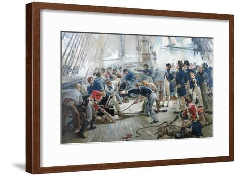 Color Lithograph-Orford Smith-Framed Art Print