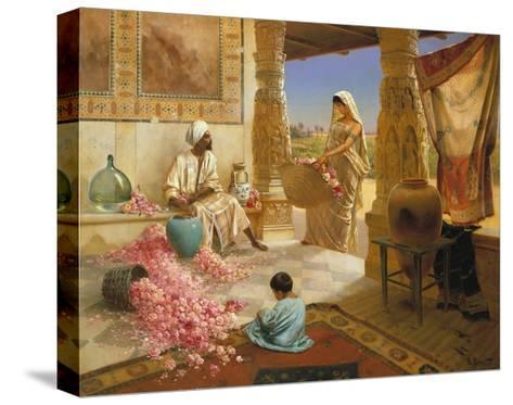 The Perfume Makers-Rodolphe Ernst-Stretched Canvas Print