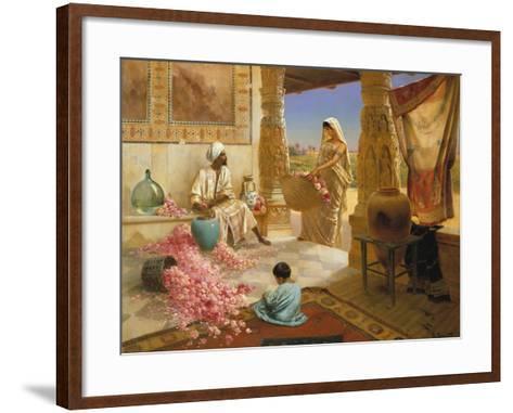 The Perfume Makers-Rodolphe Ernst-Framed Art Print