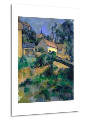 La Route Tournante ? Montgeroult (Turning Road at Montgeroult)-Paul C?zanne-Metal Print