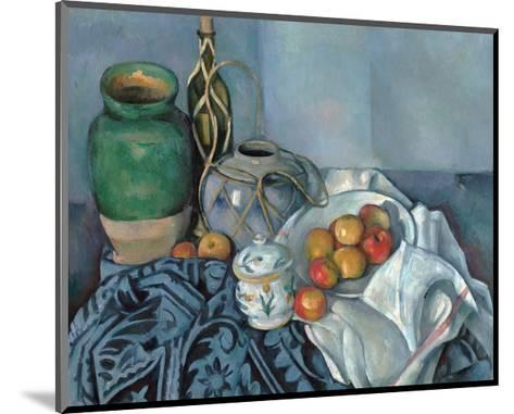 Still Life with Apples-Paul C?zanne-Mounted Giclee Print