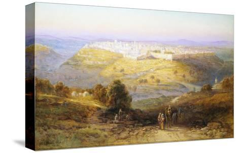 Jerusalem the Golden (Israel)-Samuel Lawson Booth-Stretched Canvas Print