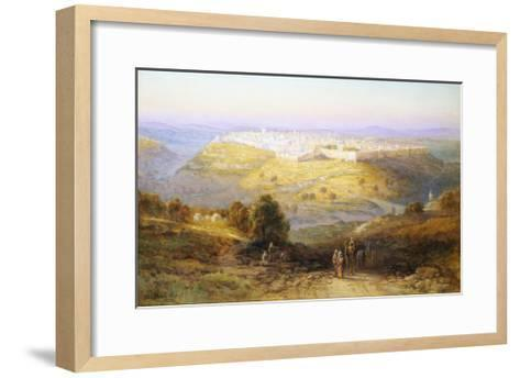 Jerusalem the Golden (Israel)-Samuel Lawson Booth-Framed Art Print