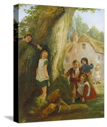 Hide and Go Seek-Samuel Mccloy-Stretched Canvas Print