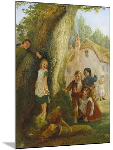 Hide and Go Seek-Samuel Mccloy-Mounted Giclee Print