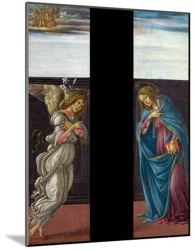 Annunciation-Sandro Botticelli-Mounted Giclee Print