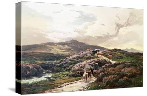 A Highland Landscape, Killin, Perthshire-Sidney Richard Percy-Stretched Canvas Print