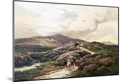 A Highland Landscape, Killin, Perthshire-Sidney Richard Percy-Mounted Giclee Print
