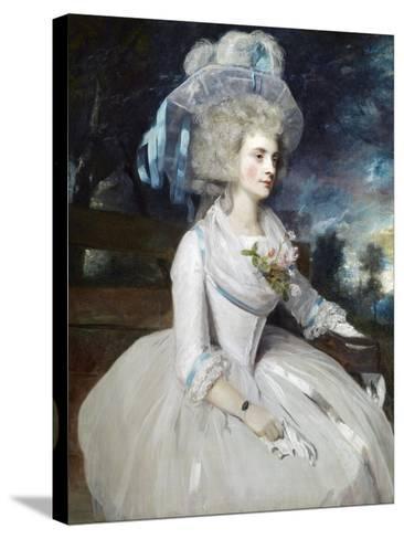 Selina, Lady Skipwith-Sir Joshua Reynolds-Stretched Canvas Print