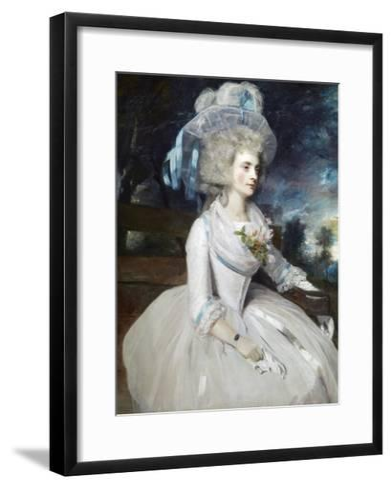 Selina, Lady Skipwith-Sir Joshua Reynolds-Framed Art Print