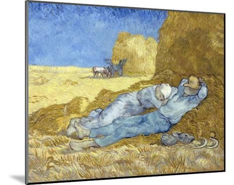 The Siesta (After Millet)-Vincent van Gogh-Mounted Giclee Print