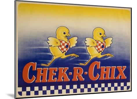 Chek-R-Chix American Feed Advertising Poster--Mounted Giclee Print