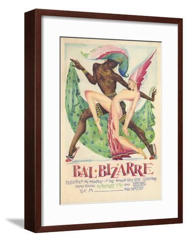 Bal Bizarre Poster--Framed Art Print