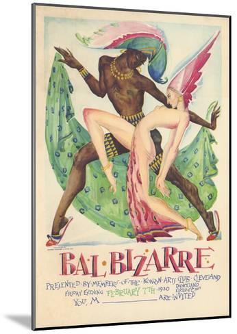 Bal Bizarre Poster--Mounted Giclee Print