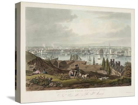 Baltimore from Federal Hill--Stretched Canvas Print
