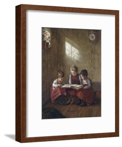 Happy Story-Walther Firle-Framed Art Print