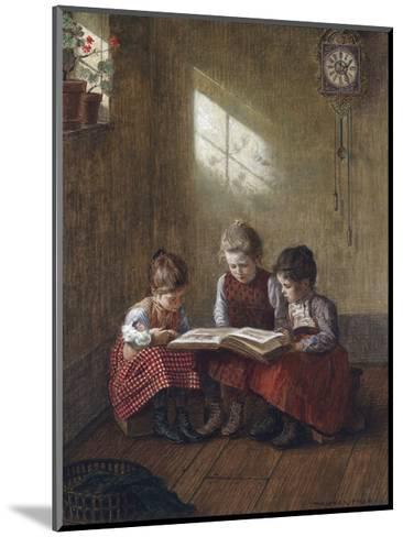 Happy Story-Walther Firle-Mounted Giclee Print
