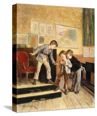 Filling the Inkwells-Theophile Emmanuel Duverger-Stretched Canvas Print