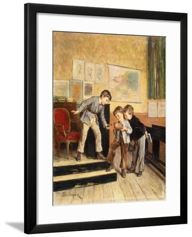 Filling the Inkwells-Theophile Emmanuel Duverger-Framed Art Print