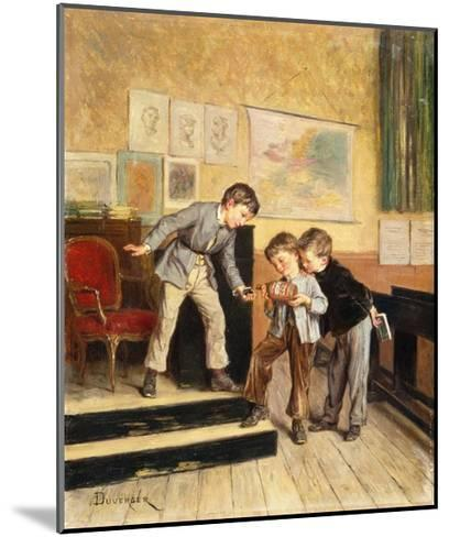 Filling the Inkwells-Theophile Emmanuel Duverger-Mounted Giclee Print